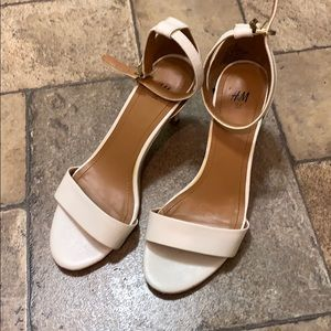 H&M sandal heels (mary jane)